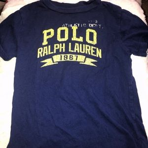 Boys Ralph Lauren Polo Graphic Tee Shirt